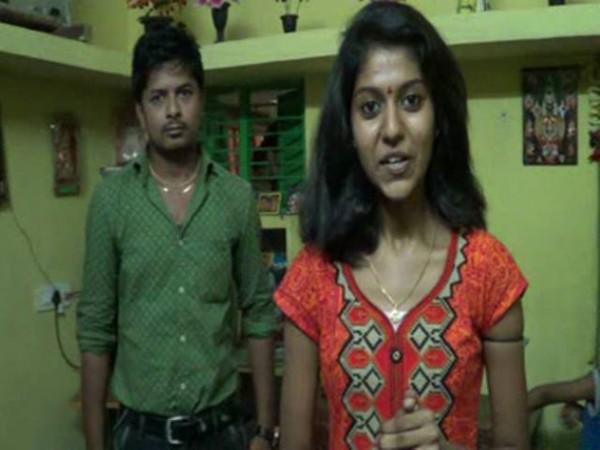 Madhu Priya and Mangi Srikanth
