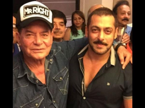 Salim Khan and Salman Khan