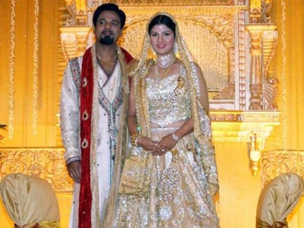 Rambha with her husband