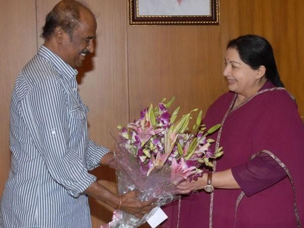 Rajinikanth recalls his infamous stand against Jayalalithaa