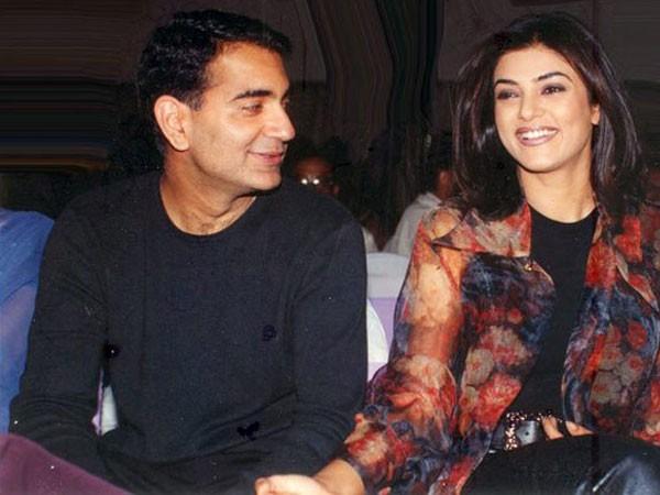 Sushmita Sen and Manav Menon