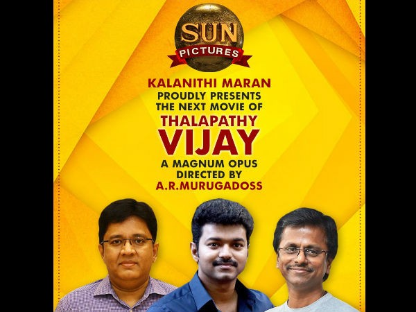 Sun Pictures to produce Vijay 62