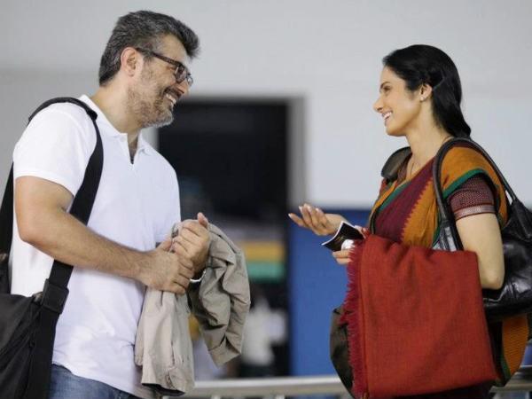 Ajith with Sridevi