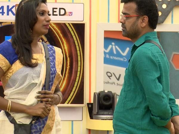 Nithya files death threat complaint against her hubby Thadi Balaji