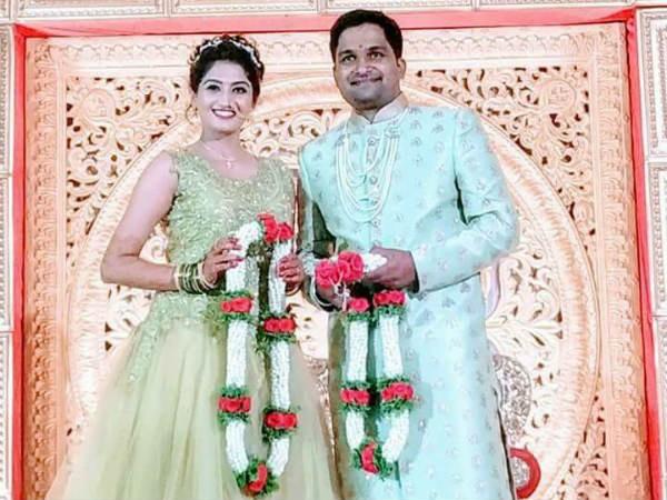 Pawan Wadeyar weds Apeksha Purohit