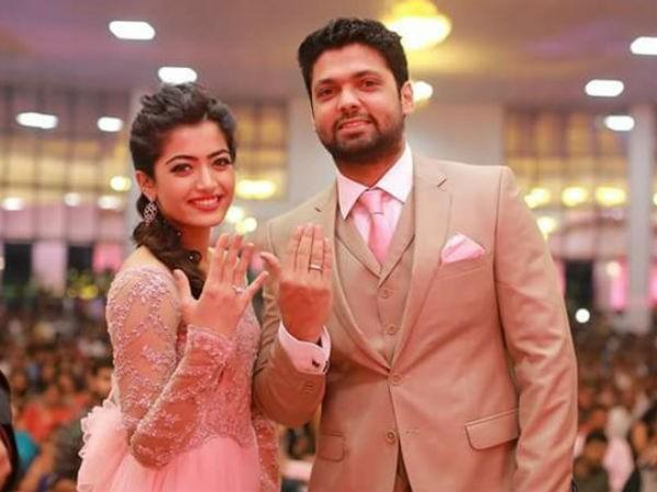 Rashmika Mandanna breaks up with Rakshit Shetty
