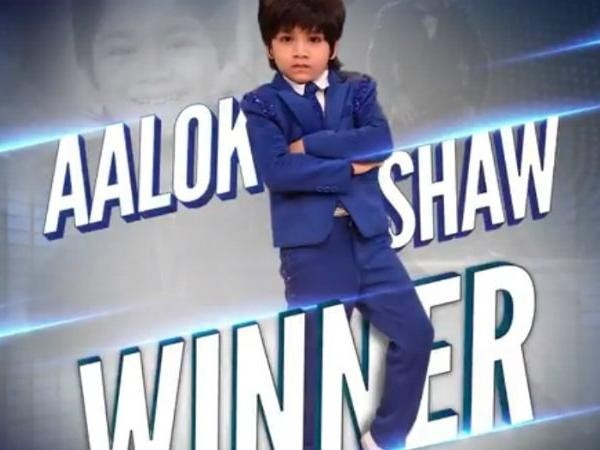 Dance Deewane 2018 Grand Finale: Aalok Shaw declared winner.