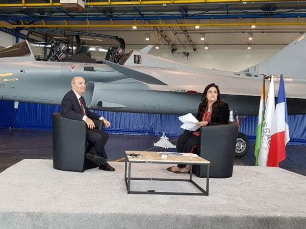 Dassault Aviation Chief Executive Officer (CEO) Eric Trappier