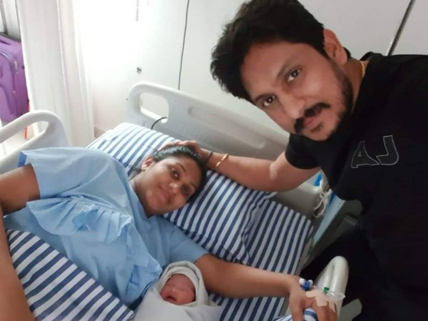 Ajai Rao with his Daughter
