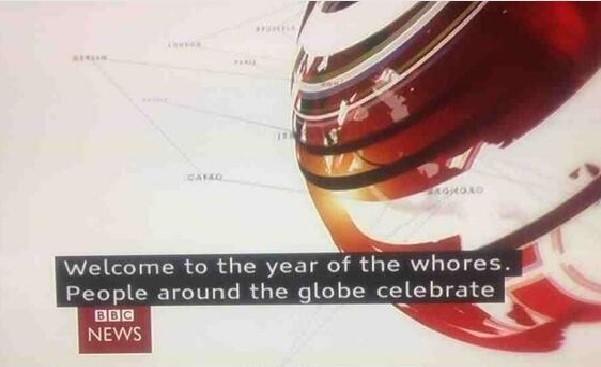 BBC Gaffe