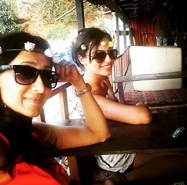 Surbhi Jyoti and Teejay