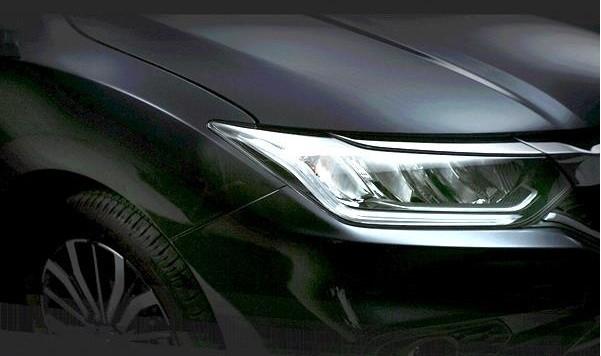 New Honda City facelift teaser