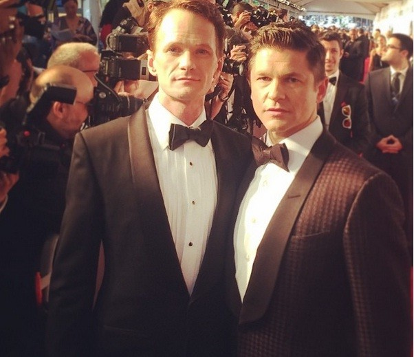 Neil Patrick Harris and David Bartka