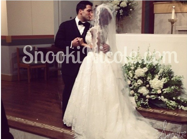 Snooki and Jionni are Wed