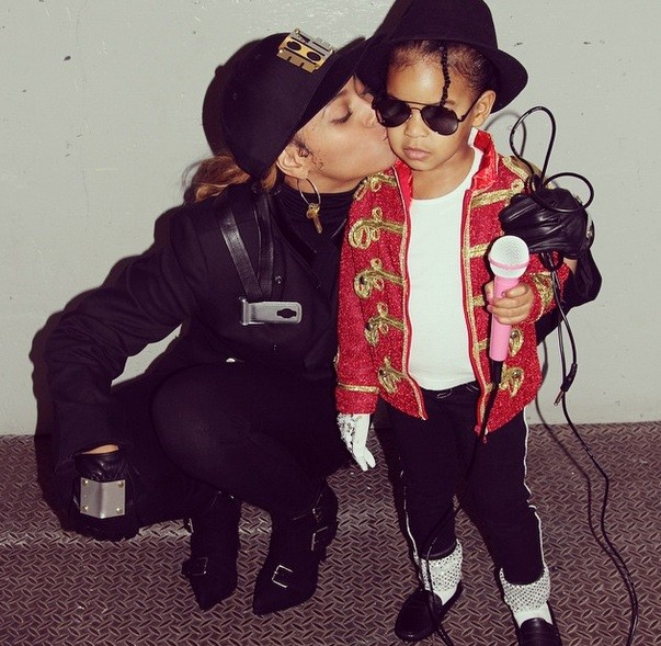 Mommy Beyonce joins in as Janet Jackson
