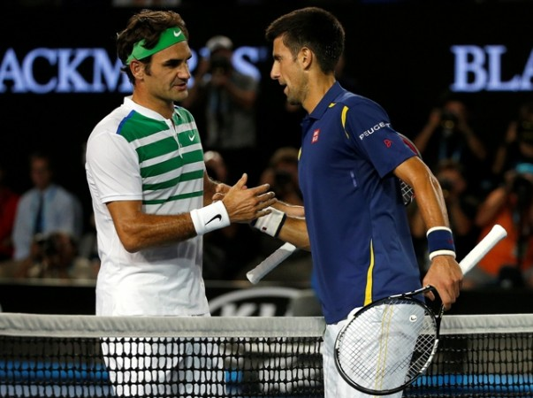 Djokovic, Federer, French Open.
