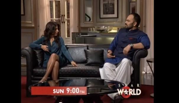 "Rohit Shetty and Zoya Akhtar on ""Koffee with Karan"""