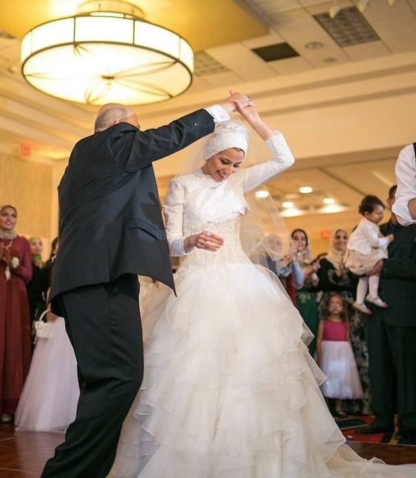 Chapel Hill shooting victim,posted a photo of her dancing with her dad after he wedding. Yusur had gotten married in December 2014.