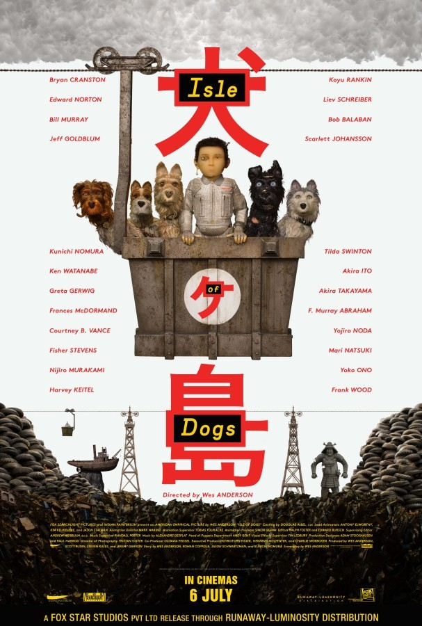 Wes Anderson,Isle of Dogs,Isle of Dogs poster,Isle of Dogs movie poster,Isle of Dogs pics,Isle of Dogs images