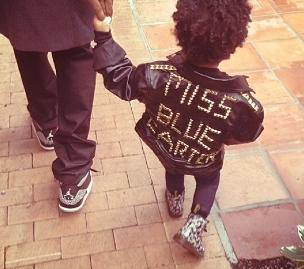 In case you miss her, she has a personalised jacket too