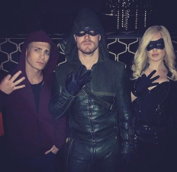 Speedy Arrow and Canary