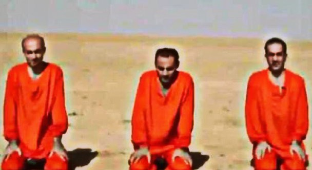 New Isis video shows execution of three Assyrian Christians in Syria