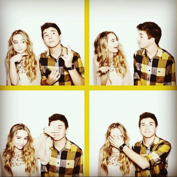 Sabrina Carpenter and Bradley S Perry
