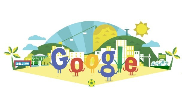 FIFA World Cup 2014, Google Doodle