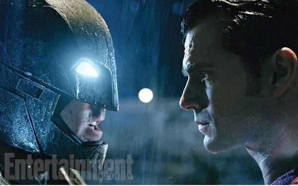First photos of Batman V Superman Dawn of Justice were released by Warner Bros