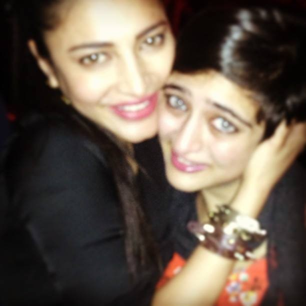Shruti Haasan and Akshara Haasan