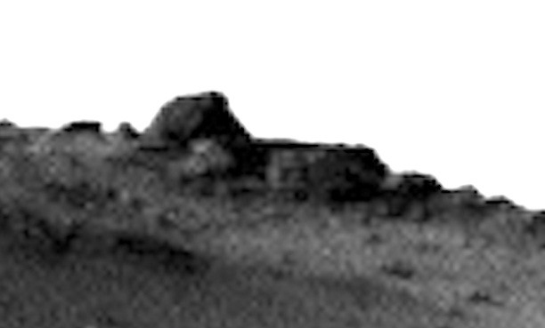 alien temple on mars