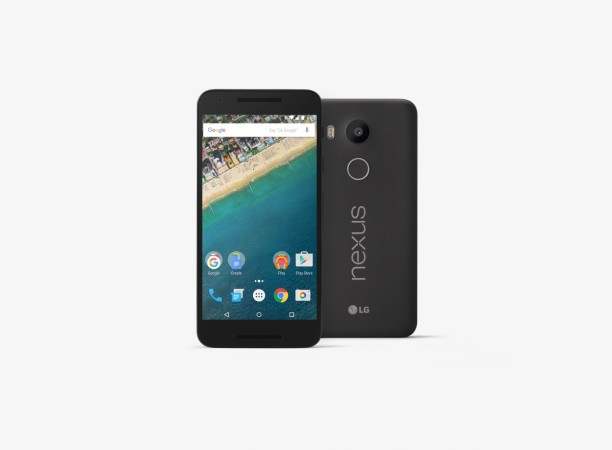 LG Nexus 5X, Launched in September, 2015