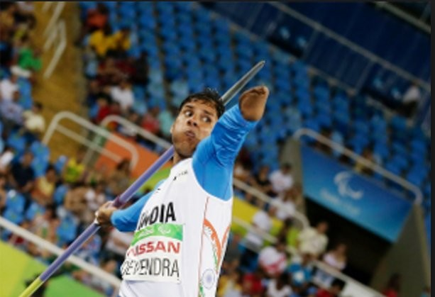 India's Devendra Jhajharia bettered his own world record to win gold in the men's javelin throw F46 event at the 2016 Rio Paralympics.