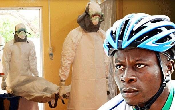 Ebola Cyclist