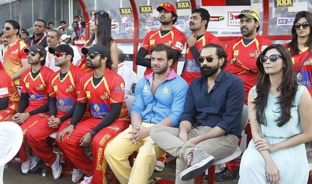 Sohail Khan and Bobby Deol at CCL 5 Final