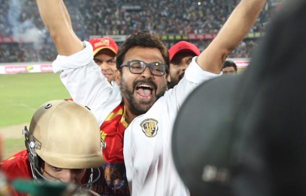 Cheerful Venkatesh at CCL 5 Final