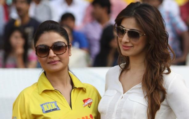 Sonia Agarwal with Raai Lakshmi