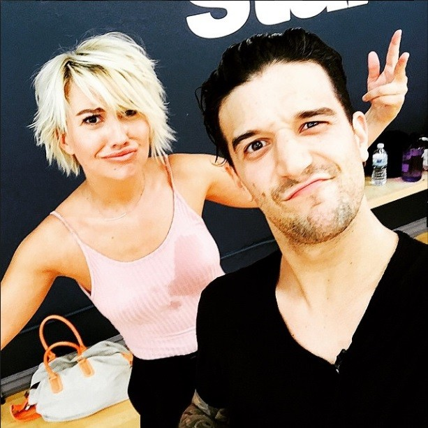 Mark Ballas with former celebrity partner in 'DWTS' Chelsea Kane