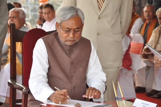 Nitish Kumar, the Chief Minister of Bihar