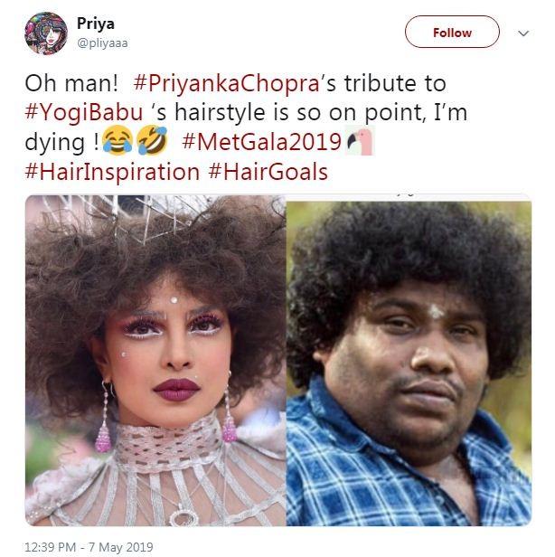 Yogi Babu-Priyanka Chopra