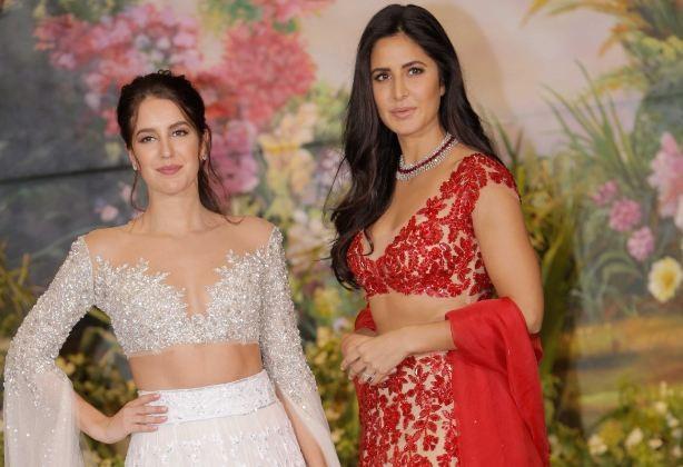Katrina Kaif and her sister Isabelle Kaif