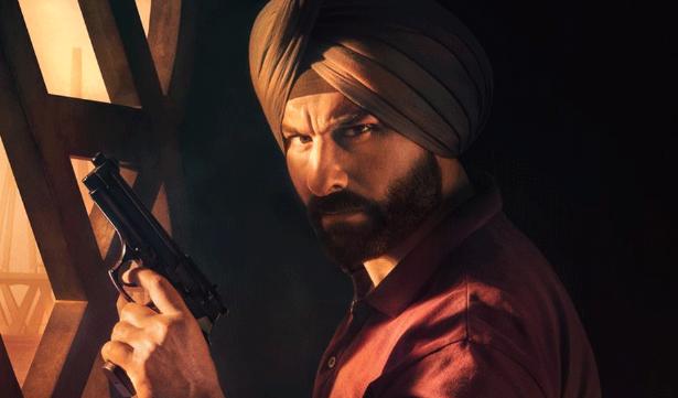Saif Ali Khan in Sacred Games