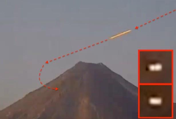 UFO Mexico Volcano
