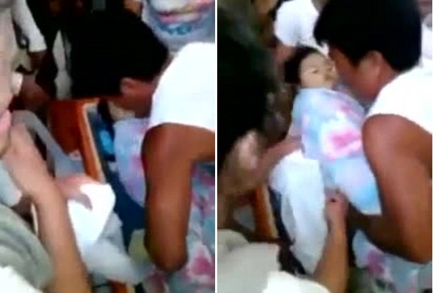 Dead three year Filipino Child who woke up at her funeral is dead again