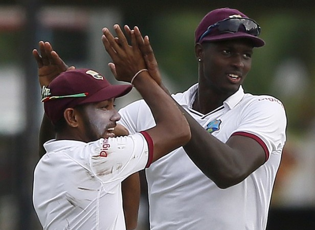 Jason Holder Devendra Bishoo West Indies