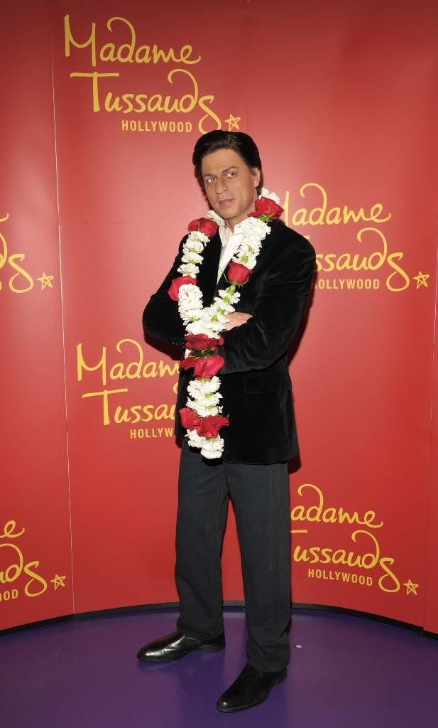 Shah Rukh Khan in Madam Tussaud's wax gallery