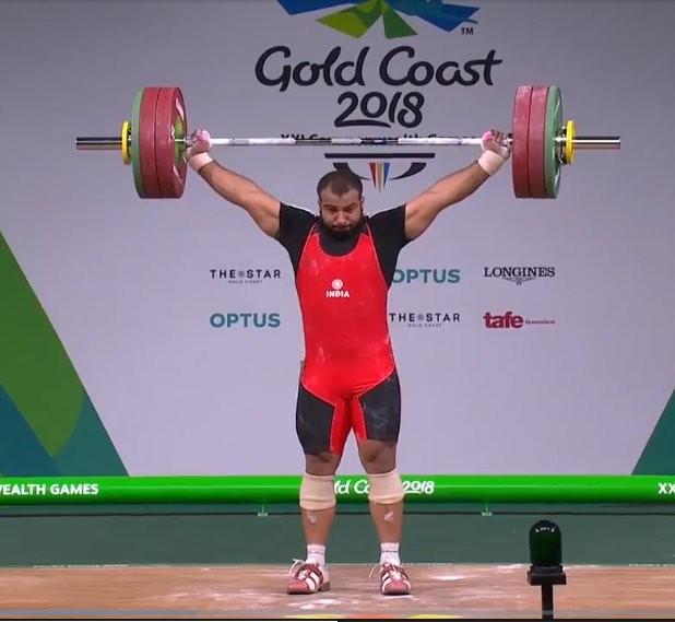 Weightlifter Pardeep Singh,Pardeep Singh,Pardeep Singh wins Silver,Commonwealth Games 2018,CWG 2018,Pardeep Singh pics,Pardeep Singh images