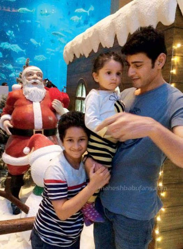 mahesh babu with his family photos images gallery 11327