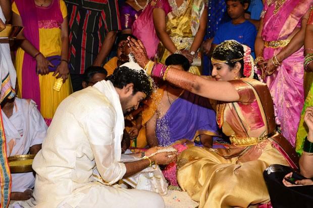 Allari Naresh Wedding Pics
