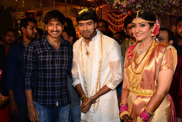 Celebs at Allari Naresh Wedding,Celebs at Allari Naresh marriage,Allari Naresh Weds Virupa,Virupa wedding,Virupa wedding pics,Virupa wedding images,Virupa wedding photos,allari naresh and Virupa,allari naresh and Virupa marriage,allari naresh and Virupa m